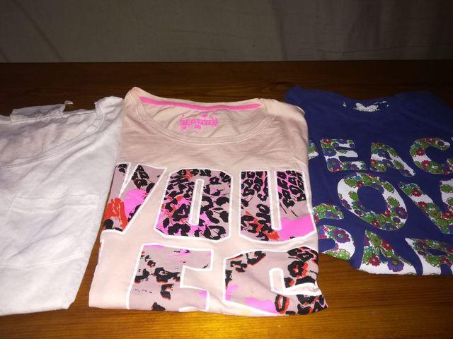 Camisetas pack