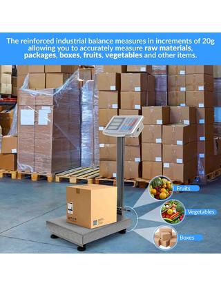 Báscula Industrial De Plataforma 150kg/20g