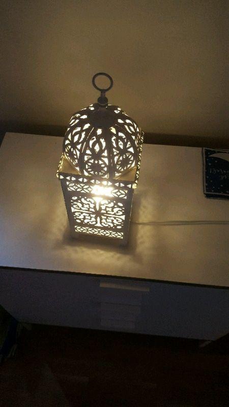 Moroccan stile table lamp