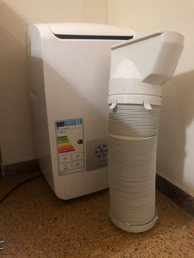 Aire acondicionado portátil de 1.300 w