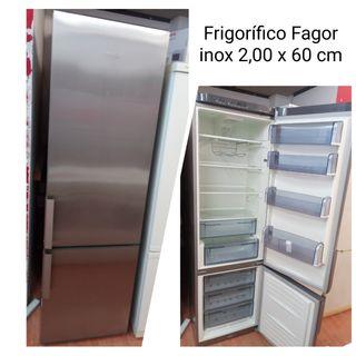 Frigorífico Fagor inox con garantía