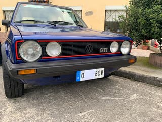 Paragolpes/ defensa golf mk1 cabrio