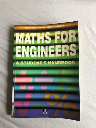 Maths for Engineers. A students handbook