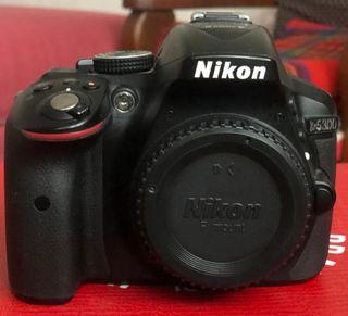 Nikon D5300 + objetivo 35mm 1.8