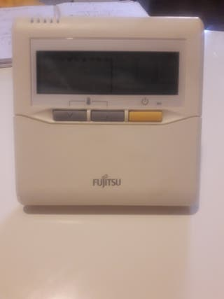 control termostato de aire acondicionado Fujitsu