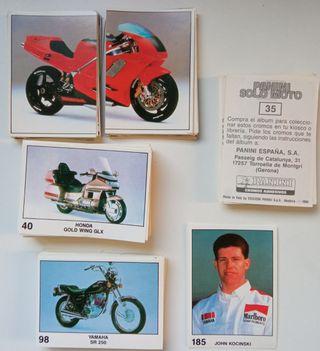 cromos Panini solo moto. 1990.