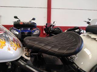 Sillón de muelles. Kawasaki VN900
