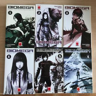 Colección completa manga Biomega