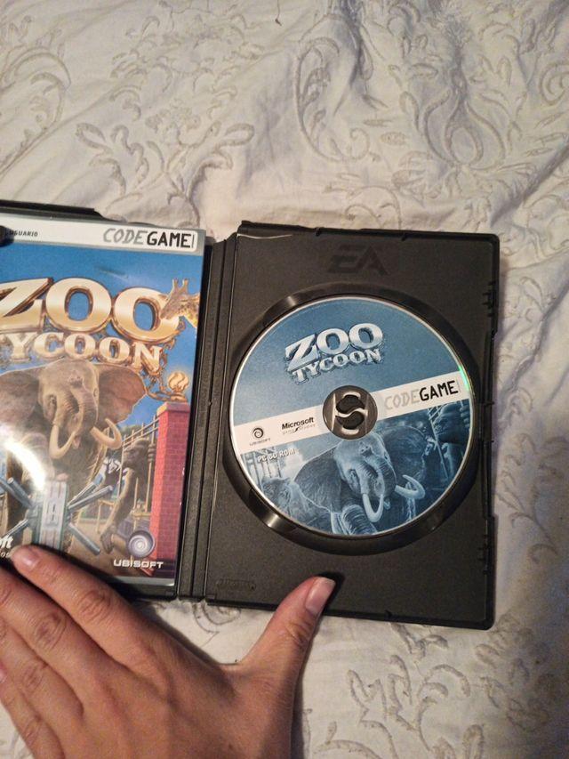 Videojuego Zoo Tycoon