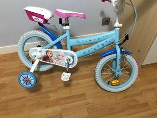 Bicicleta frozen NUEVA