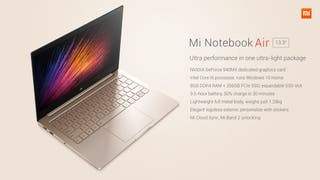 Xiaomi Mi Notebook air 13'3