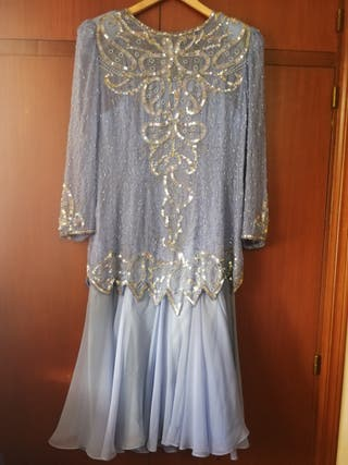 Vestido de fiesta - madrina de boda.