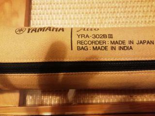 Flauta Yamaha Contralto