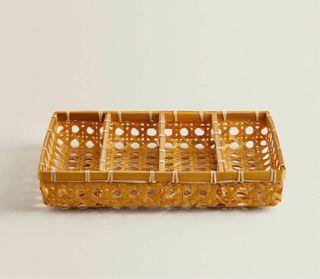 Cubertero bambú Zara home