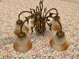 Lámpara 5 tulipas