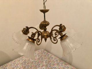 Lámpara techo antigua
