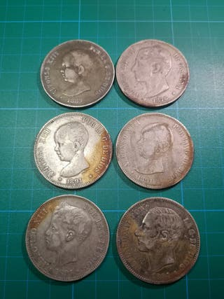 monedas 5 pesetas / duro