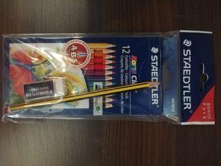 Lápices de colores surtido de 12 colores