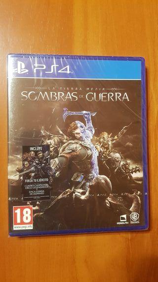 SOMBRAS DE GUERRA PS4 PAL ESPAÑA (PRECINTADO)