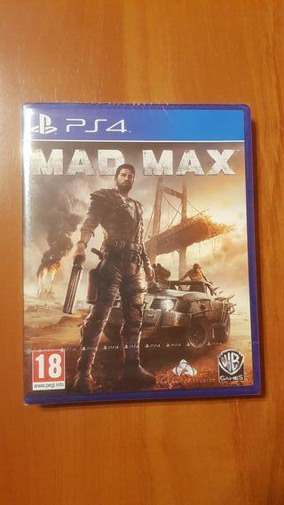 MAD MAX PS4 PAL ESPAÑA (PRECINTADO)