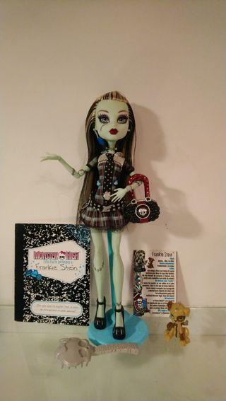 Muñeca Monster High Frankie Stein Primera Edición