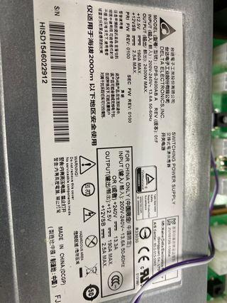 Fuente alimentacion Delta 2400w DPS-2400AB