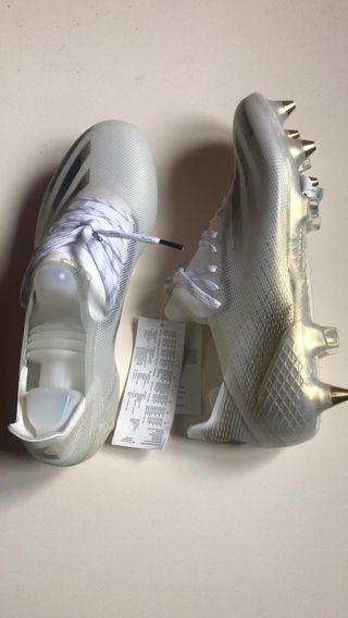 Botas De futbol adidas X TALLA 42 aluminio