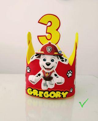 corona cumpleaños marshall.