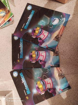 libros de matemáticas de tercero de primaria