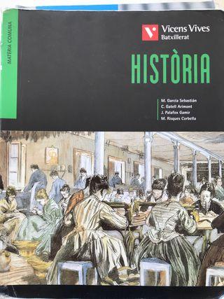 Libro historia 2o Bachillerato