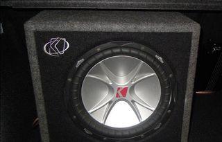 Subwoofer 12 y Amplificador