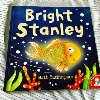 Bright Stanley Children's Fish Story Book New