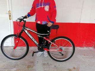 Bicicleta Montaña doble amortiguador