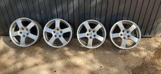 Llantas aluminio Renault Laguna 2