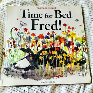Time For Bed, Fred! Children's Story Book