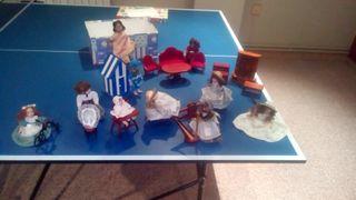 Colección muñecas de época de porcelana