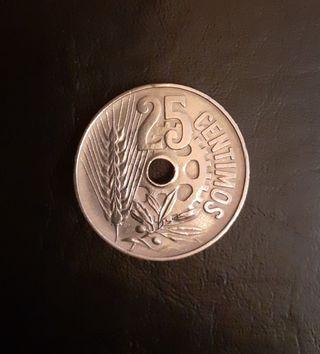 25 céntimos de 1934