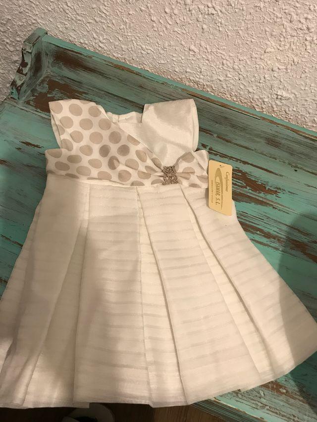 Vestido niña 12-18 mesea