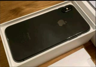 iPhone X unlocked in Space Grey