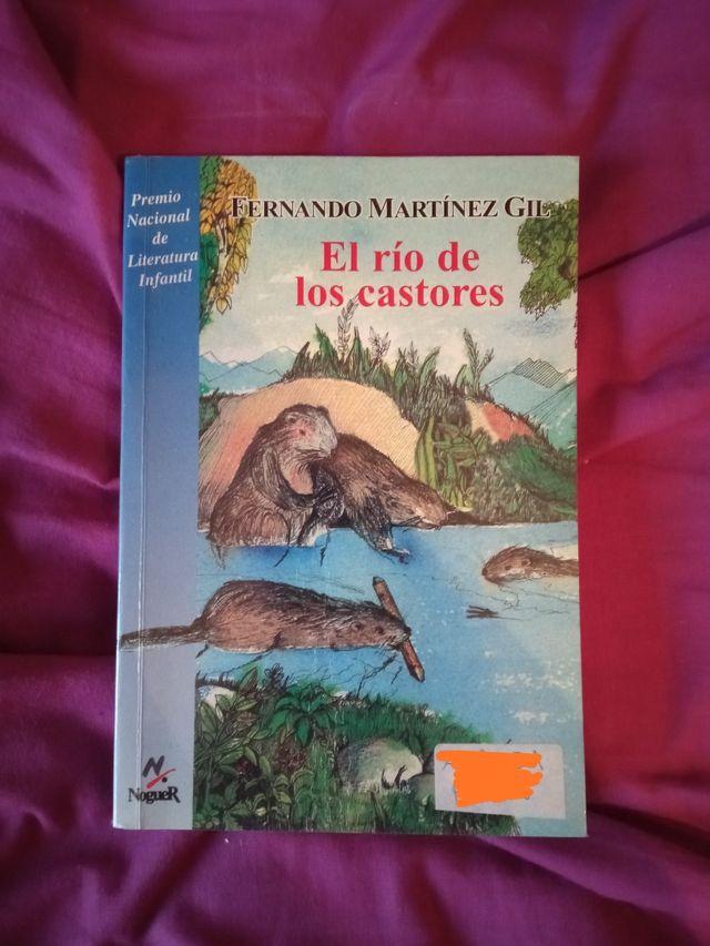 Libro infantil el río de los castores