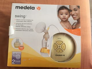 Sacaleches Medela Swing y Tetina