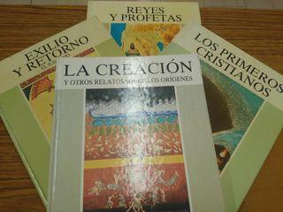 """lote de libros """"La Biblia, historia de un pueblo"""""""