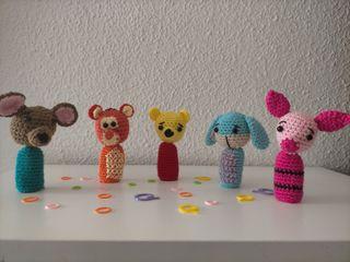 Marionetas dedo Winnie de Pooh