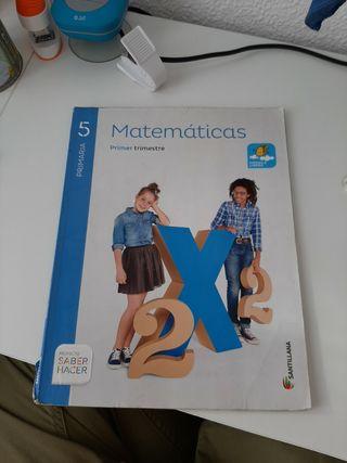 libros de matematicas 5 de primaria