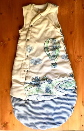 Saco de dormir infantil de invierno, largo 70cm