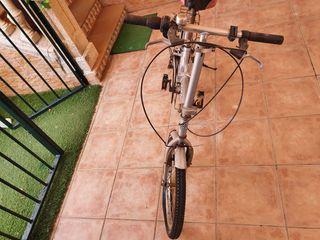 bicicleta pleglable