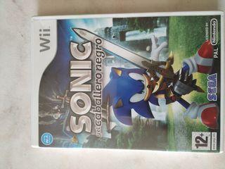 Juego de la Wii Sonic el caballero negro