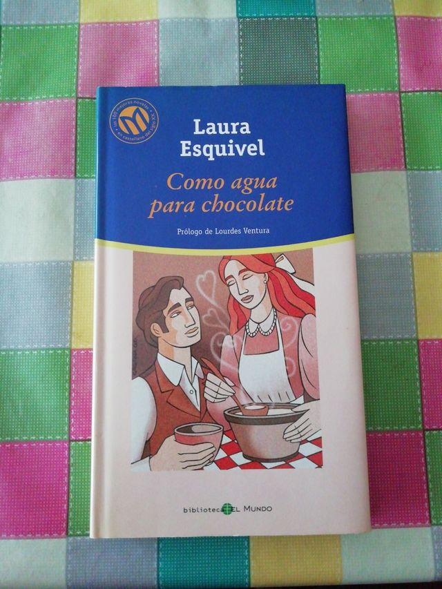 Libro COMO AGUA PARA CHOCOLATE _ Laura Esquivel _