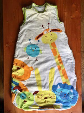 Saco de dormir infantil de otoño/invierno, 73cm
