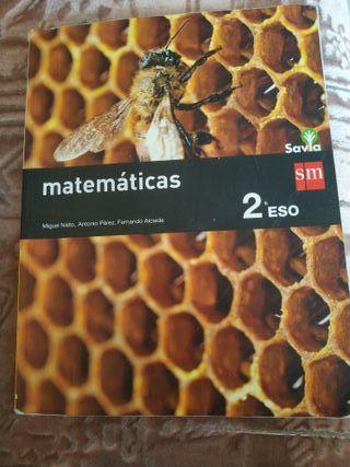 Matemáticas 2 ESO editorial SM